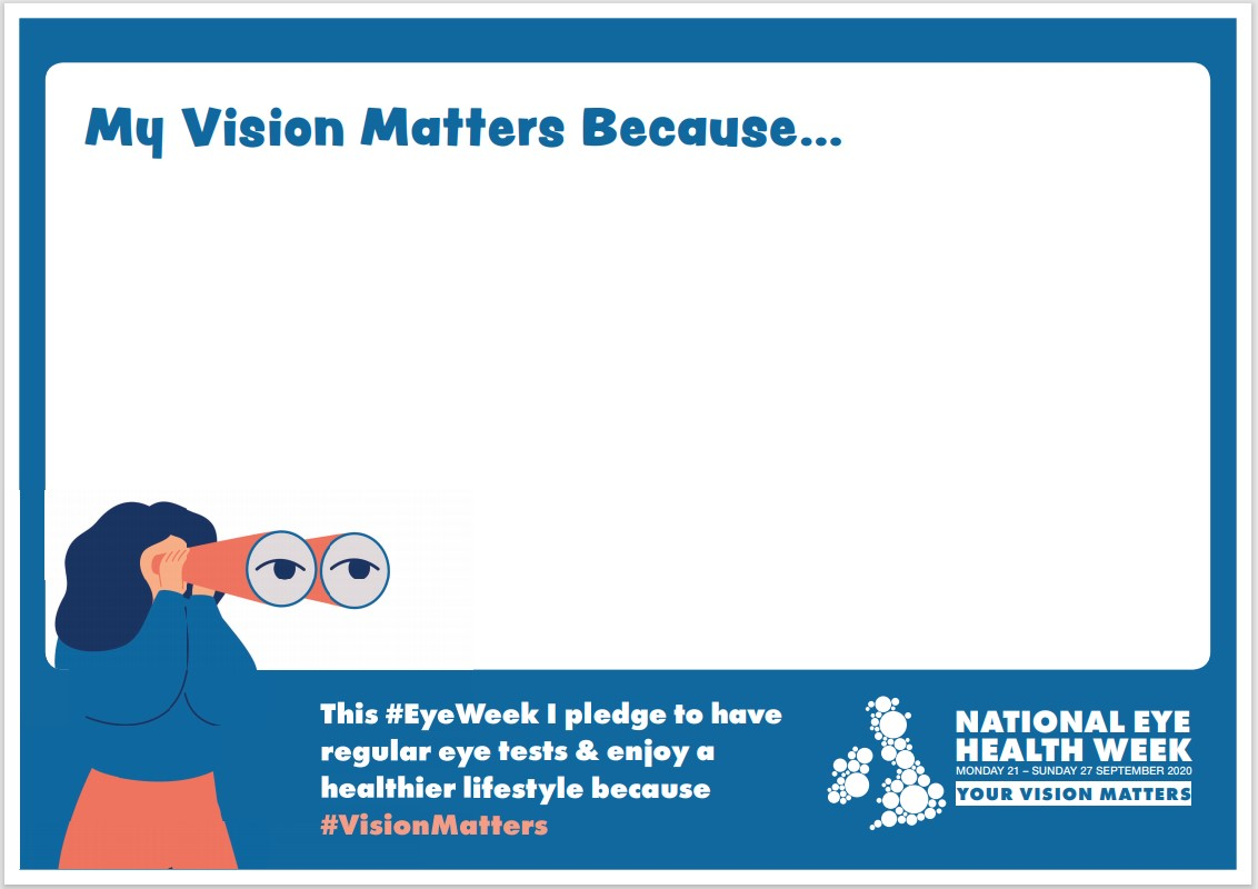 My Vision Matters banner