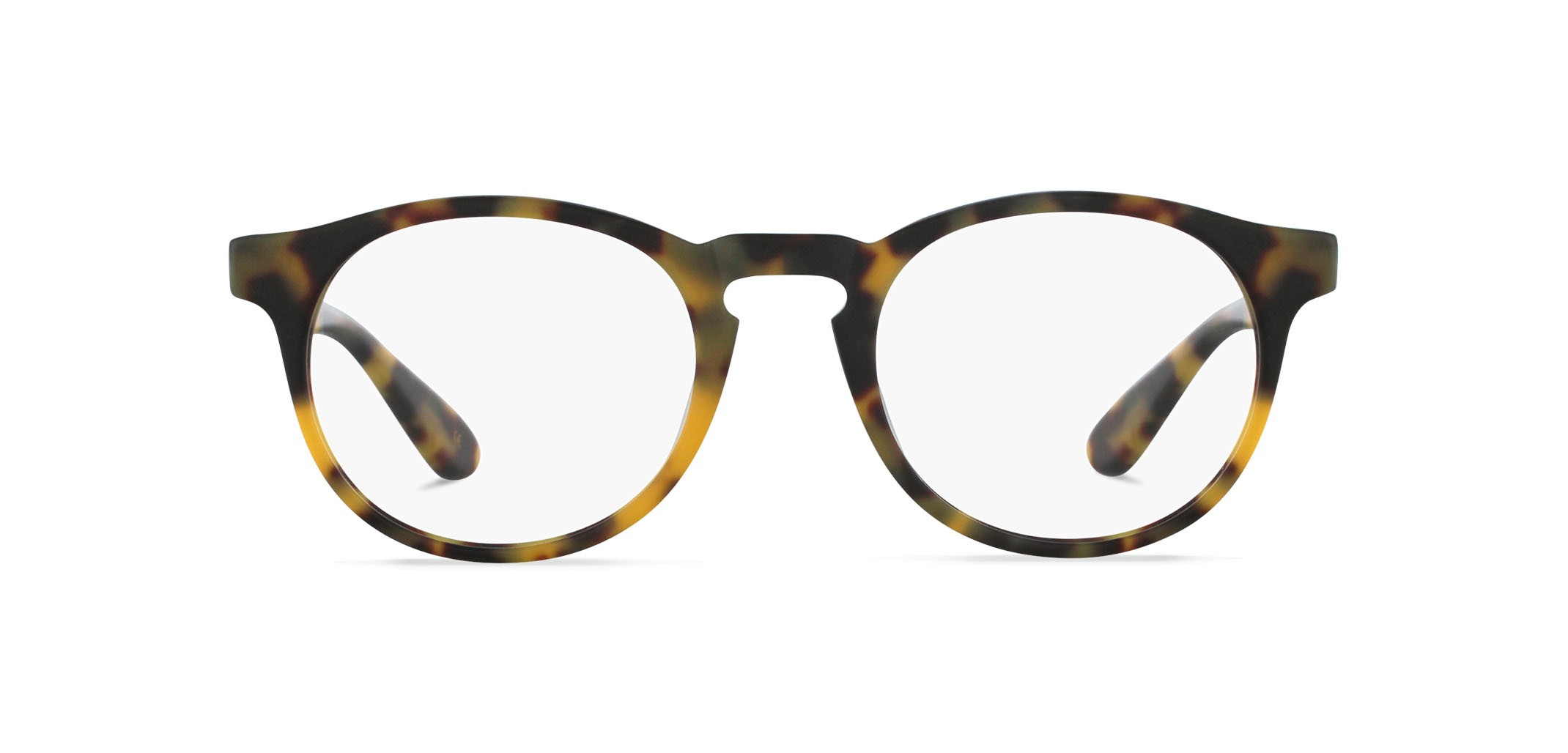 Angelo raw blond tortoise front