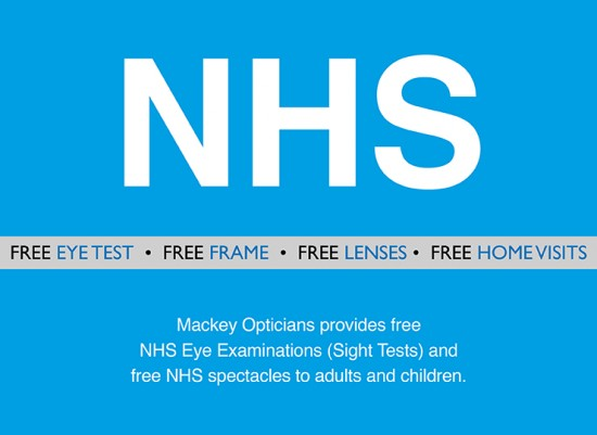 Free Glasses for NHS Patients