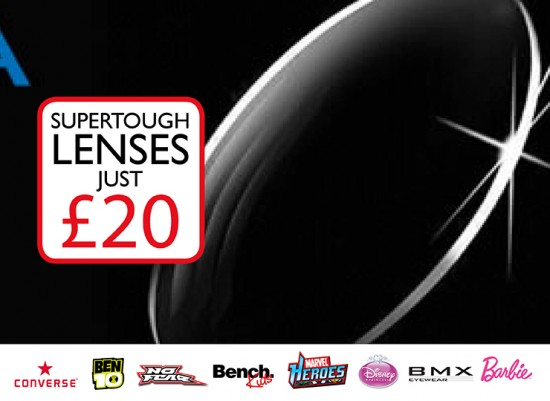 Supertough Lenses just £20
