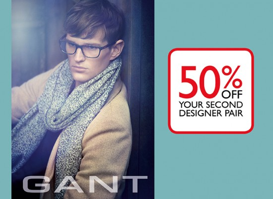 50% off Your Second Designer Pair