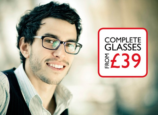 Complete glasses from £39