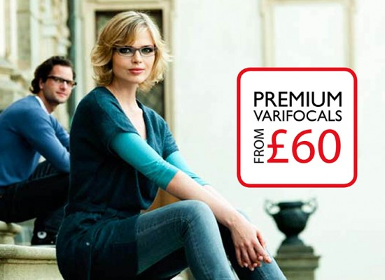 Premium Varifocals from £60