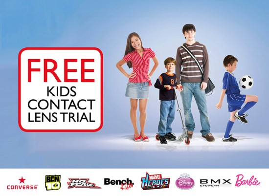 Free Kids Contact Lens Trial