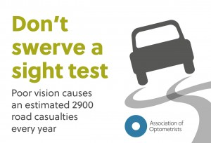 Don't swerve a sight test