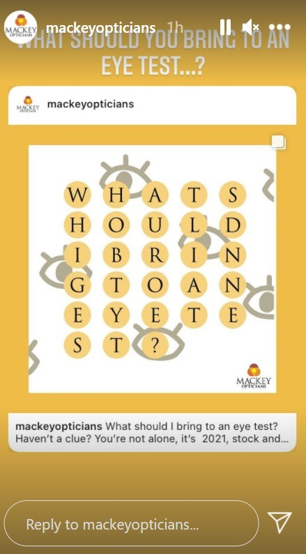 What to bring along to an eye examination?