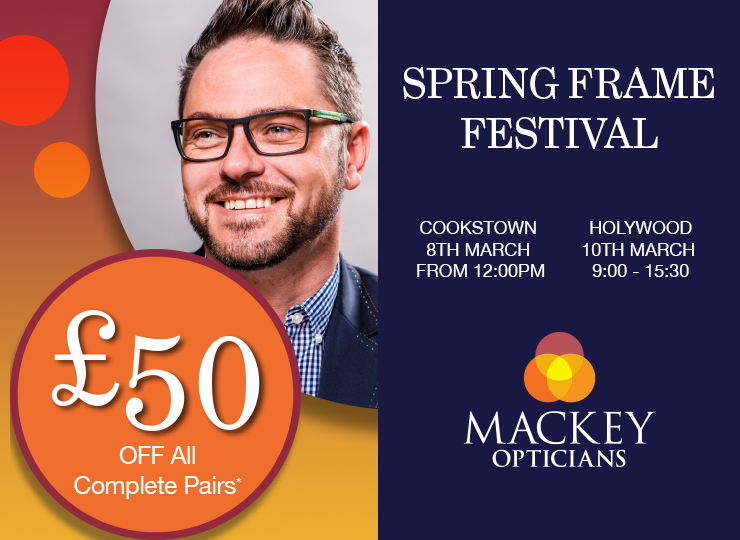 Spring Frame Festivals at Holywood and Cookstown