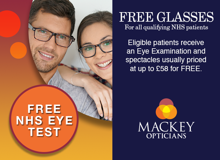 Free NHS Sight Tests and Glasses